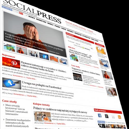 SOCIALPRESS: Media społecznościowe w praktyce