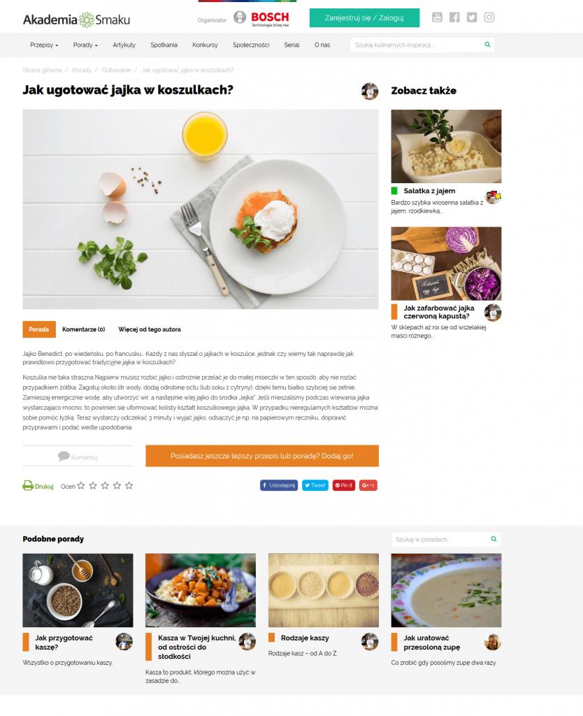 akademiasmaku.pl - ContentHouse