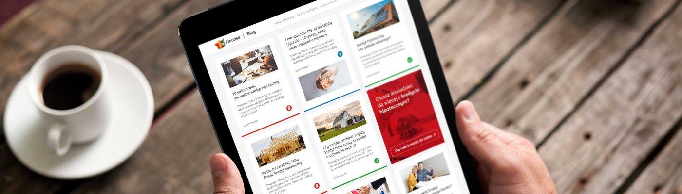 mFinanse blog content marketing contenthouse