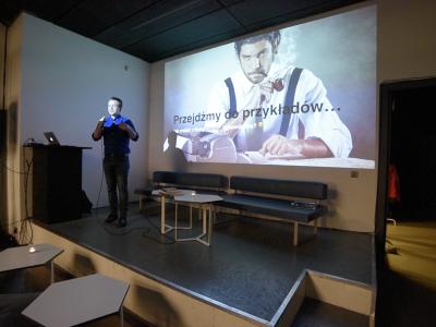 Grzegorz Miłkowski CRASH Mondays content marketing kraków